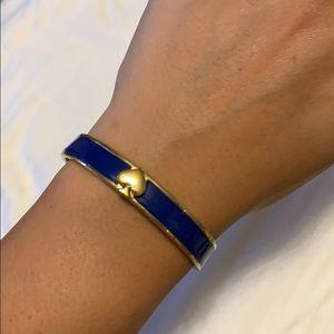Kate Spade royal blue bangle